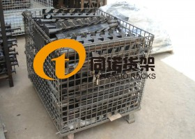 河南汽车零部件企业用上同诺仓储笼