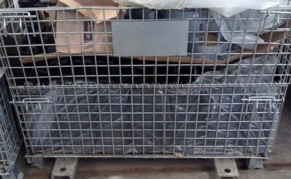 底部加槽钢仓储笼