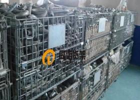 玉环某铸造企业使用仓储笼