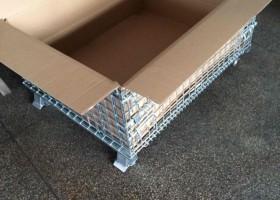 常州客户用于装货的出口仓储笼