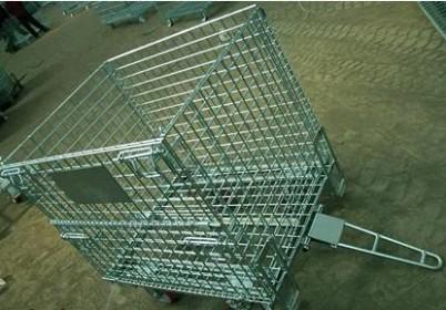 带牵引仓储笼