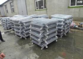 仓储笼-能够折叠起来的仓储笼有很多的优势和特色