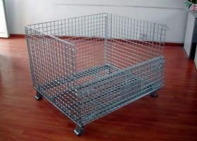 西安仓储笼,折叠式镀锌仓储笼厂家批发价格