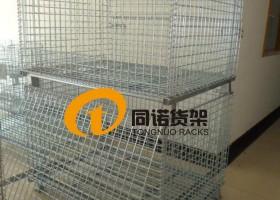同诺货架可以供应 长春仓储笼,哈尔滨蝴蝶笼,沈阳折叠式镀锌铁笼